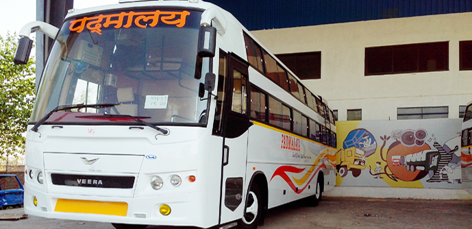Online Bus Ticket Booking Padmalaya Travels